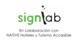 Logo SIGNLAB con Native 12p