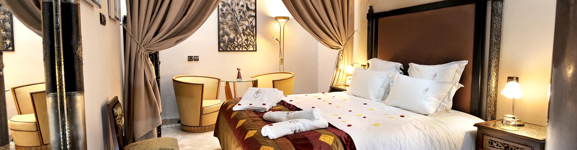 Riad De La Belle Epoque, habitación Coco Chanel