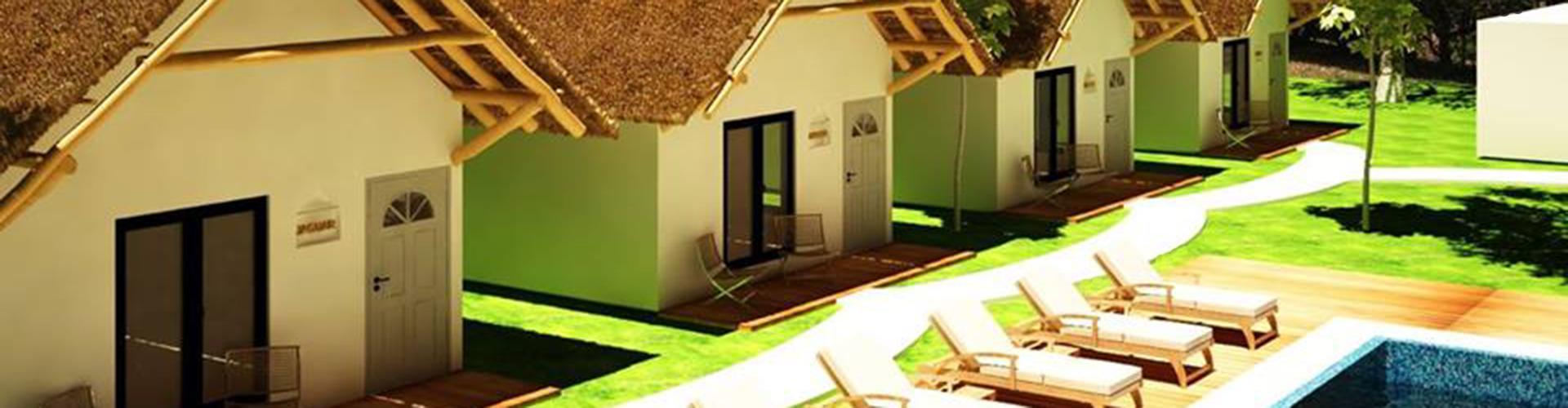 Ecovergel Tulum – Habitaciones y piscina