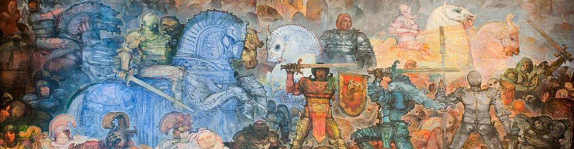 Fortebraccio, mural