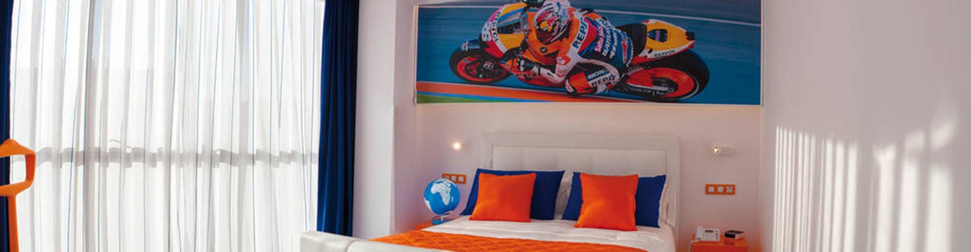 RESOTEL habitación moto