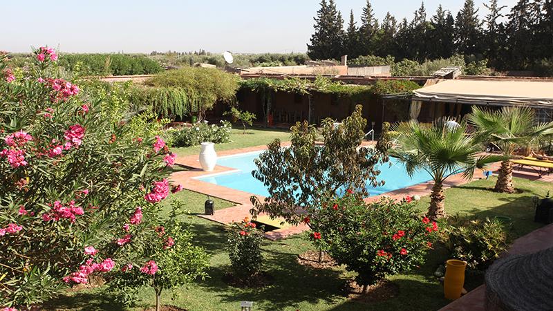Handi Oasis, vista general del jardín