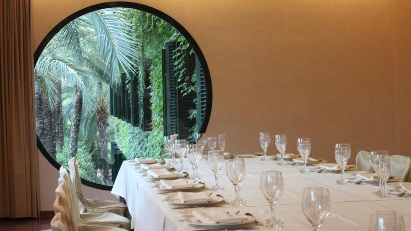 Um salâo de eventos no Hotel Jardín Milenio